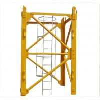 Buy cheap Potain tower crane parts mast section from wholesalers