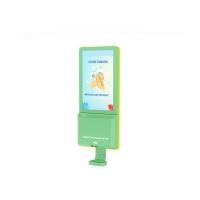 Buy cheap Wifi Hand Sanitizer Dispenser 1080p Lcd Digital Signage With Temperature from wholesalers