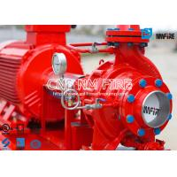 Buy cheap Fire Fighting Electric Motor Driven Fire Pump Group 45.4m³ / H UL Certificated from wholesalers