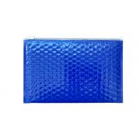 Buy cheap Blue foiling zip lock poly bubble envelope bubble courier shipping bubble mailer from wholesalers