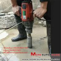 Buy cheap vacuum brazed diamond core bits  Alisa@moresuperhard.com from wholesalers