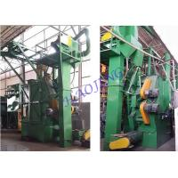 Buy cheap Automatically Double Track Hanger Type Shot Blasting Machine 380V 60HZ 3P from wholesalers