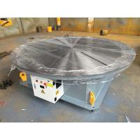 Buy cheap 0.01 - 0.1rpm Pipe Welding Positioners , 5000 lbs Capacity Rotary Welding Turn Table from wholesalers