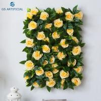 Buy cheap Romantic Artificial Flower Wall Panels Wedding Venue Decor Eco - Friendly from wholesalers