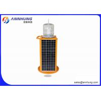 Buy cheap Red Solar Aviation Obstruction Light with High Efficient LED Chip from wholesalers
