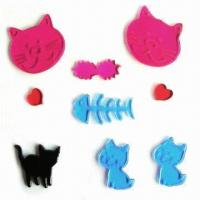 Buy cheap Gel stickers, eco-friendly, OEM and ODM orders are welcome, easy to apply and remove, no adhesive product