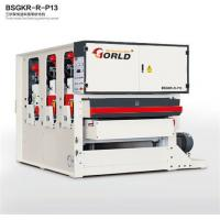 Buy cheap BSGKR-R-P13 Three Heads Fast Speed Feeding Plywood Veneer Finishing Polishing Sanding Machinery from wholesalers