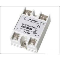 Buy cheap Fotek Type Electrical Relay / Solid State Variable Relay With LED Indication SSR-40DA from wholesalers