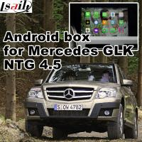 Buy cheap 1.6 GHz Mercedes - benz GLK gps navigator android mirrorlink rearview video play from Wholesalers
