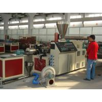 Buy cheap High Efficiency Plastic Granules Making Machine , WPC Conical Twin Screw Extruder from wholesalers