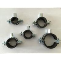 Bandwidth mm epdm rubber coated pipe clamps iron
