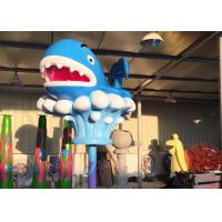 Buy cheap Blue Whale Fiberglass Toddler Water Toys Park Spray Holiday Resort from wholesalers