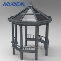 Buy cheap Weather Proof Prefabricated Gazebo Sun Shade Construction Structure from wholesalers