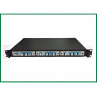 Buy cheap 12 Channel CWDM Mux Demux , 19 Rack Insertion Cassette Box 3 IN 1 from wholesalers