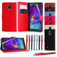 Buy cheap Lichee Grain Leather Wallet Samsung Cell phone Covers for Galaxy Note 4 with Stand from wholesalers