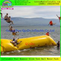 Buy cheap Big Colorful Lake water Air Bag Inflatable Water Launch Jump Blob For Sale from wholesalers