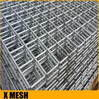 Buy cheap concrete reinforcing round steel bar welded mesh from wholesalers