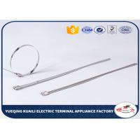 Buy cheap Self - locking stainless steel wire ties all size metal zip ties from wholesalers