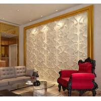 Buy cheap Paintable PVC Wall Panels Light Weight Composite Wall Board TV Background from wholesalers