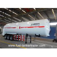 Buy cheap Three Axle CO2 N2 O2 CH4 ARGON Natural Gas LNG Tank Semi Truck Trailer from wholesalers