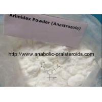 Buy cheap Oral Arimidex ( Anastrozole ) 120511-73-1 Anti-Estrogen Steroids To Treat Breast Cancer from wholesalers