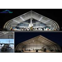 Buy cheap Aircraft Hangar Tfs Tent / Curved Tent With Color Customized from wholesalers