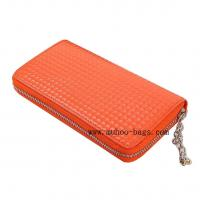 Buy cheap Fashion PU lady Purse Wallet (MH-2069 Orange) from wholesalers