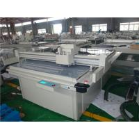 Buy cheap Video Registration System Carton Box Making Machine 30mm Cutting Thickness from wholesalers