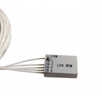 Buy cheap ABS Pigtailed Module 4CH LAN WDM Mux Demux Multiplexer from wholesalers