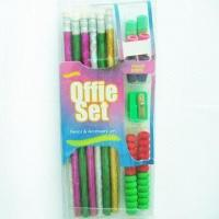 Buy cheap Pencils with Eraser Caps, Pencil Grips, and Sharpener from wholesalers