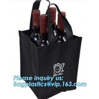 Buy cheap Recycle Durable Two Bottles Non Woven Wine Bag, customized high quality non woven fabric wine bottle bags, bagease, pac from wholesalers