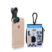 Buy cheap 5in 1 Lens Kit Fish Eye Wide Angle Macro Telephoto 2X CPL Clip phone lens for iPhone 6 7 xiaomi mobile phones DG5 from wholesalers