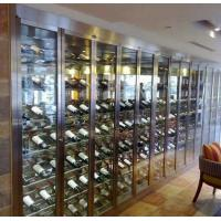 Buy cheap China Wine Shelves Fabrication Custom Stainless Steel Factory Price from wholesalers