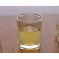 Buy cheap Square Glassware Tall Skinny Shot Glass Personalised 2Oz Capacity from wholesalers