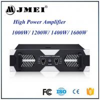 Buy cheap Professional Stage Bar Class H Audio Amplifier , 1000w 1200w 1400w 1600w Amp from wholesalers