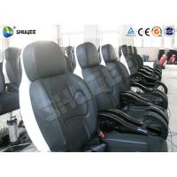 Buy cheap Genuine PU Leather Movie Theater Seat Dynamic For 5D Cinema System product