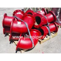 Buy cheap Ductile iron pipe fittings, double flanged bends from wholesalers
