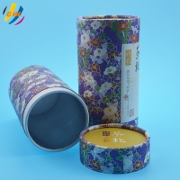 Buy cheap CMYK Printing ODM Service Round Paper Tube Packaging For Tea from wholesalers