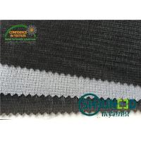 Buy cheap Warp And Tricot Knitted Fusible Interlining Fabrics With Wet Finish Process W1110 from wholesalers