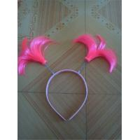 Buy cheap Kids Double Layer Wig Head Hoop For Children Girls Dress Up Decoration Christmas Costume Birthday Party from wholesalers