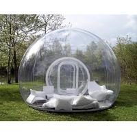 Buy cheap 6.5*5*2.8 M Transparent Inflatable Tent Go Outdoors Good Tension from wholesalers