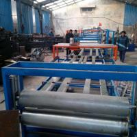 Buy cheap EPS Sandwich Wall Panel Forming Machine Fireproof Mgo Wall Board Making Machine from wholesalers