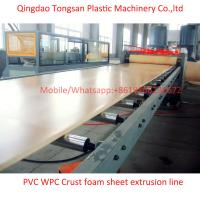 Buy cheap WPC PVC foam board extrusion line WPC PVC foam board making machine from wholesalers