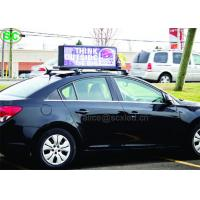 Buy cheap P6 High Definition Single Color LED Car Sign, Car Led Sign Display from wholesalers
