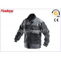 Buy cheap Durable S / M / L Canvas Workwear , Twill Elastic Cuff Long Sleeve Jacket from wholesalers