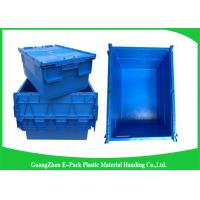 Buy cheap Industrial 50kgs Security Plastic Attach Lid Containers / plastic storage bins with lids from wholesalers
