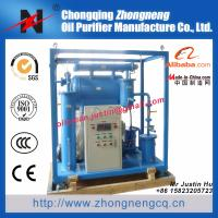 Buy cheap Insulating oil reclamation plant /single stage vacum transformer oil purification machine / oil dehydration plant ZY-50 from wholesalers