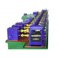 Buy cheap Gearbox Driven Cold Roll Forming Machine For Escalator Lift Hollow Elevator Guide Rail from wholesalers