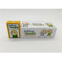 Buy cheap Customized Cyanide And Happiness Cards With Different Size Paper Card Material product