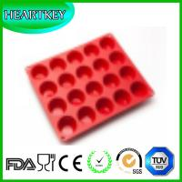 Buy cheap New 20-Cavity Shell Cake Chocolate Baking Pans Silicone Baking Tray Pudding Molds Bakeware from wholesalers